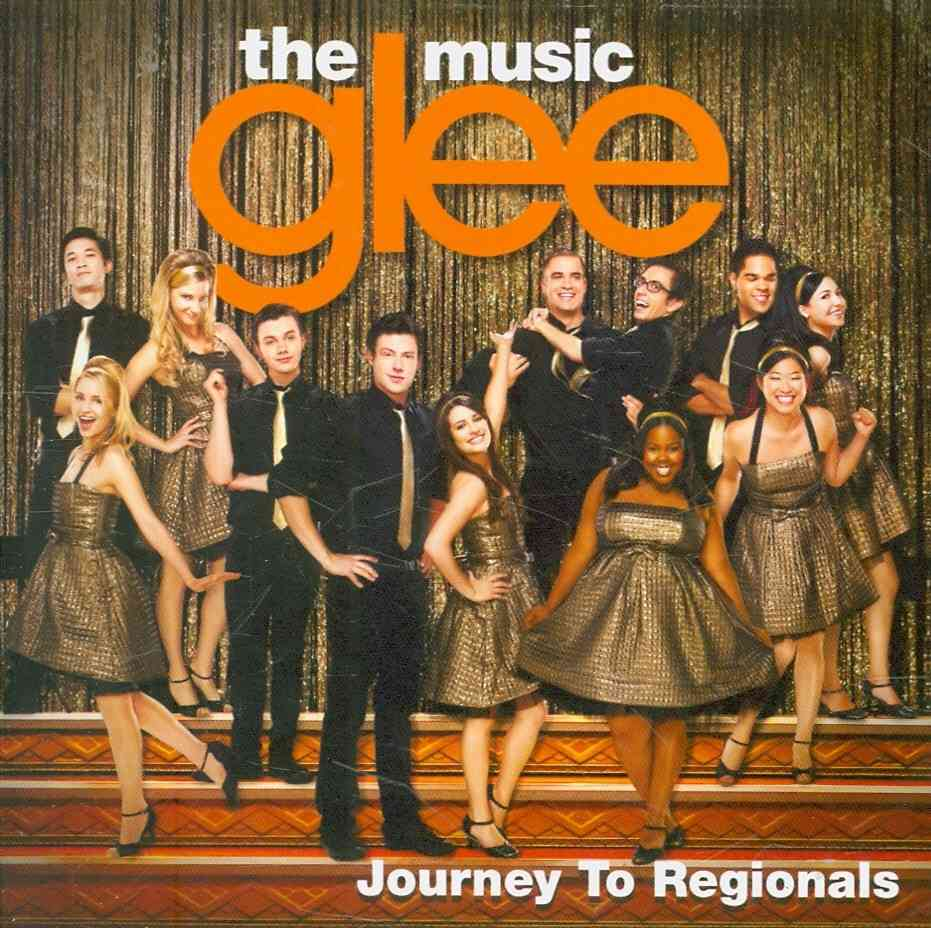 GLEE:MUSIC JOURNEY TO REGIONALS EP BY GLEE CAST (CD)
